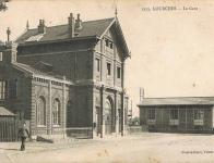 La gare de Lourches